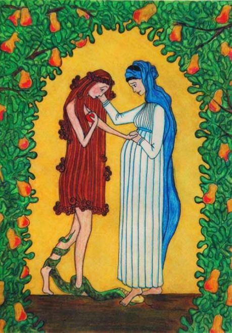 Mary and Eve